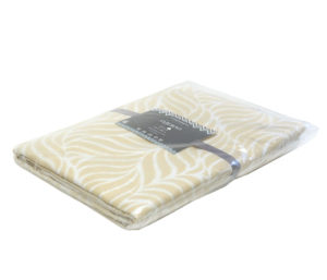 Одеяло байковое Премиум ЕР   Бежевый орнамент 150х212