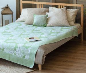 Одеяло байковое Премиум ЕР   Монстера 150х212