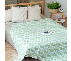 Одеяло байковое Премиум ЕР   Пальма 150х212