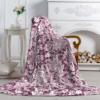 Плед-покрывало Павлина Аэро Софт Ажур Фиолетовый 150*200