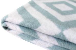 Одеяло байковое Ромбы 150х205