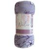 Плед-покрывало  Плед-покрывало Павлина Аэро Софт Naturelle Фиолетовый 150х200
