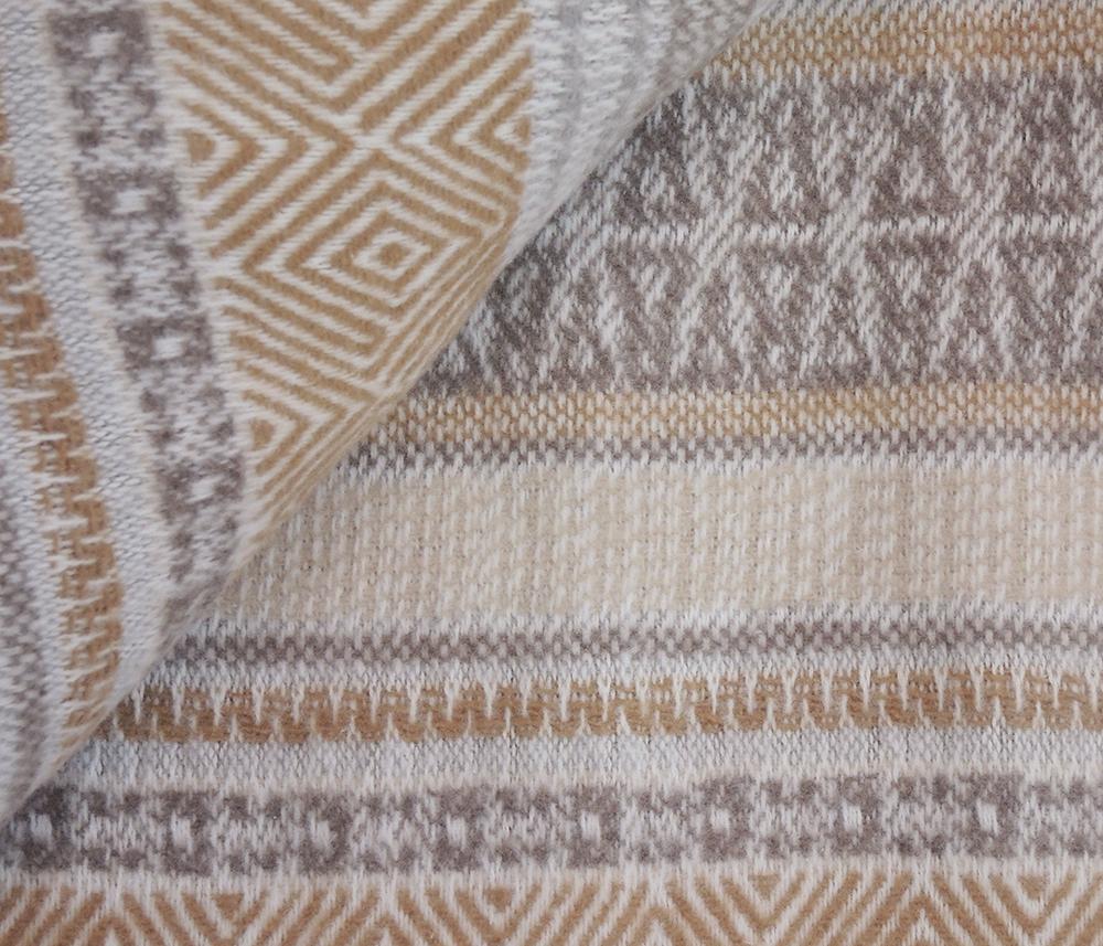 Плед с кистями КМ 15 Камелия 150х200