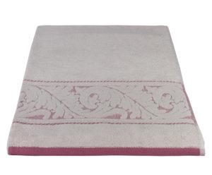 Махровое полотенце 70x140 SULTAN светло-бордовый 100% Хлопок