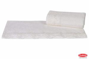 Махровое полотенце 50x90 ALMEDA кремовый 60% Бамбук 40% Хлопок