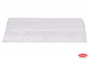 Махровое полотенце 100x150 DORA белый 100% Хлопок