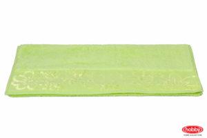 Махровое полотенце 100x150 DORA зелёный 100% Хлопок