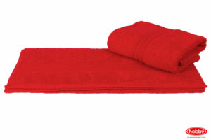 Махровое полотенце 50x90 RAINBOW гранатовый 100% Хлопок
