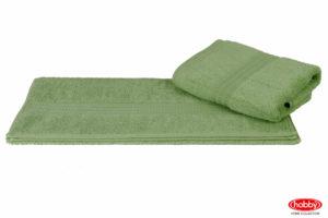 Махровое полотенце 50x90 RAINBOW зелёный 100% Хлопок