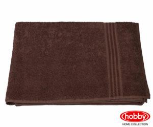 Махровое полотенце 50x90 RAINBOW коричневый 100% Хлопок