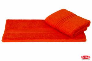 Махровое полотенце 50x90 RAINBOW оранжевый 100% Хлопок