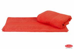Махровое полотенце 50x90 RAINBOW персиковый 100% Хлопок
