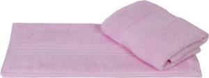 Махровое полотенце 50x90 RAINBOW св.розовый 100% Хлопок