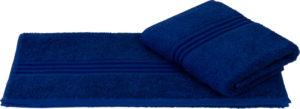 Махровое полотенце 50x90 RAINBOW синий 100% Хлопок