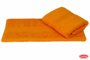 Махровое полотенце 70x140 RAINBOW горчичный 100% Хлопок