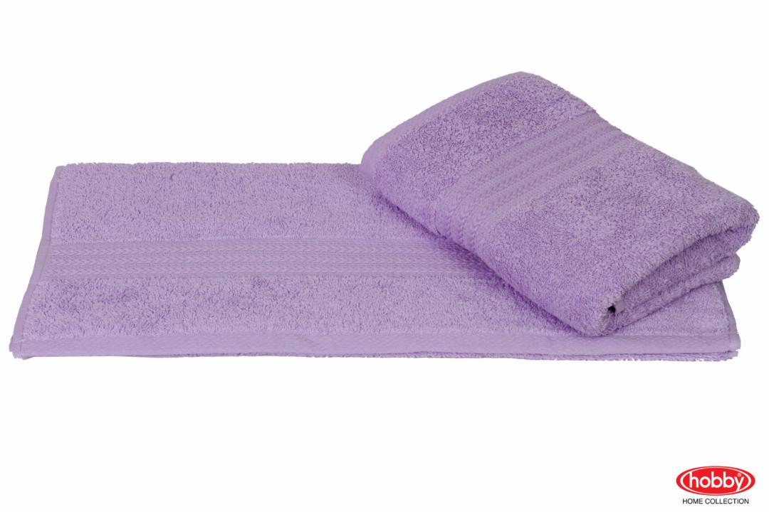Махровое полотенце 70x140 RAINBOW св.лиловый 100% Хлопок