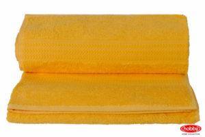 Махровое полотенце 70x140 RAINBOW т.жёлтый 100% Хлопок