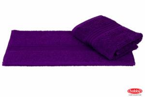 Махровое полотенце 70x140 RAINBOW фиолетовый 100% Хлопок
