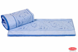 Махровое полотенце 70x140 SULTAN голубой 100% Хлопок