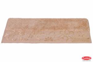 Махровое полотенце 30x50 DORA бежевый 100% Хлопок