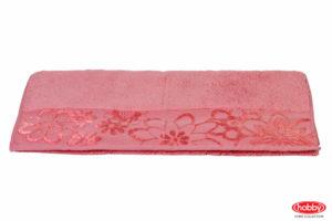 Махровое полотенце 30x50 DORA т.розовое100% хлопок