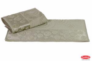 Махровое полотенце 50x90 FERAYE зелёный 100% Хлопок