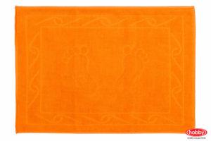 Махровое полотенце для ног 50x70 HAYAL оранжевый 100% Хлопок