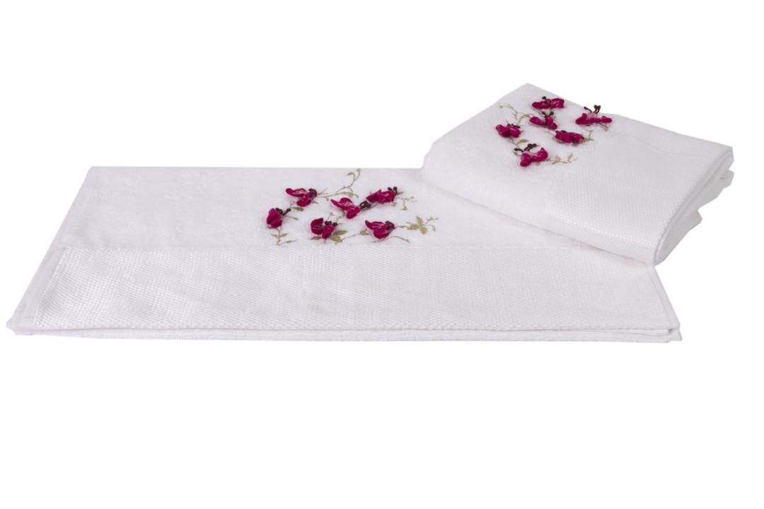 Махровое полотенце 50x90 BEYRA белый 60% Бамбук 40% Хлопок