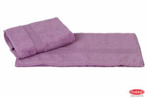 Махровое полотенце 70x140 FIRUZE фиолетовый 100% Хлопок