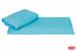 Махровое полотенце 70x140 GOFRE аква 100% Хлопок