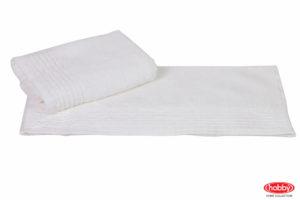 Махровое полотенце 70x140 GOFRE белый 100% Хлопок