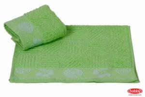 Махровое полотенце 30x30 MEYVE BAHCESI зелёный 100% Хлопок