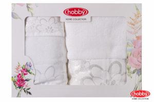 Махровое полотенце в коробке 30x50+50x90+70x140 DORA белый 100% Хлопок