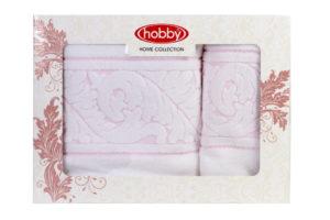 Махровое полотенце в коробке 50x90+70x140 SULTAN белый 100% Хлопок