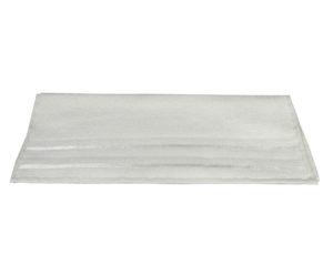 Махровое полотенце 50x90 NISA молочное 100% Хлопок