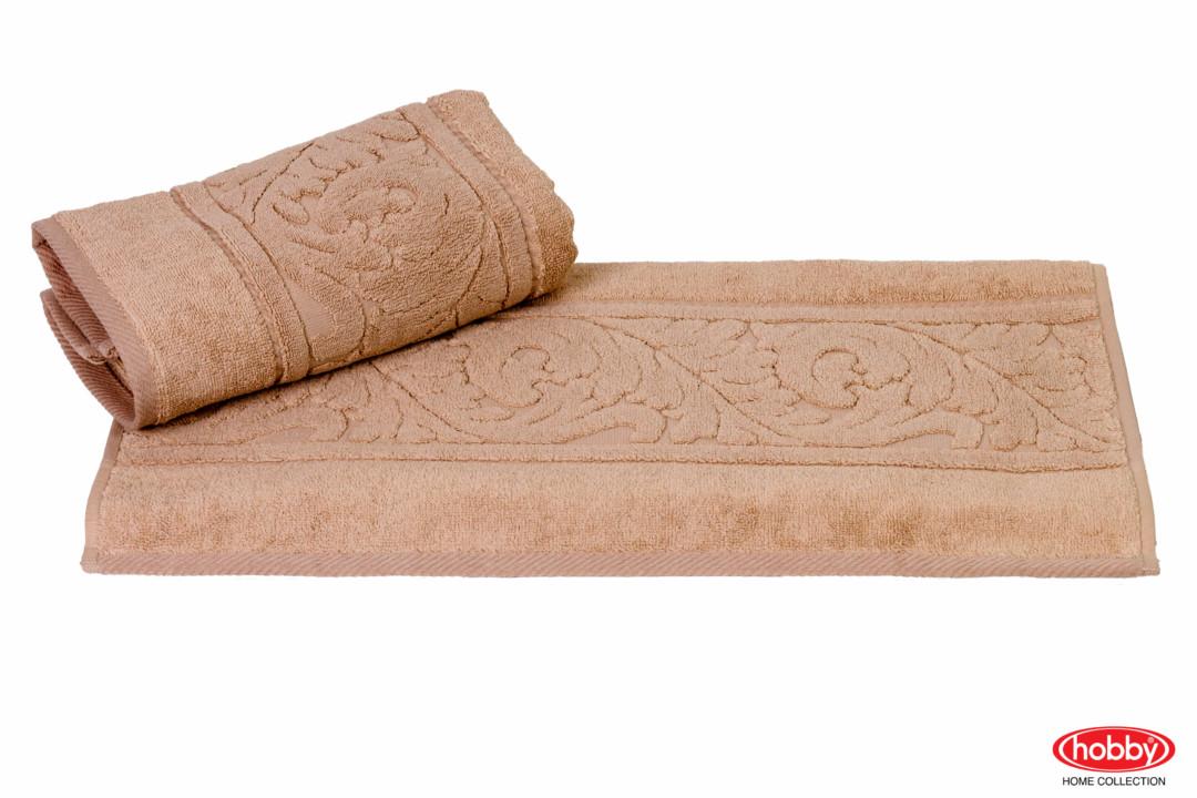 Махровое полотенце 100x150 SULTAN бежевый 100% Хлопок