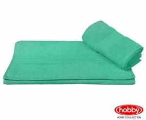 Махровое полотенце 50x90 RAINBOW лазурный 100% Хлопок