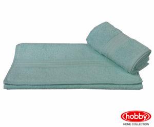 Махровое полотенце 70x140 RAINBOW лазурный 100% Хлопок