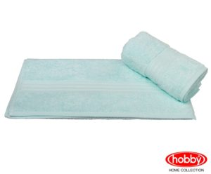 Махровое полотенце 70x140 RAINBOW св.бирюзовый 100% Хлопок