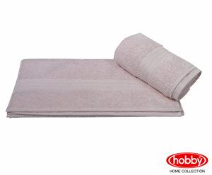 Махровое полотенце 70x140 RAINBOW св.пудра 100% Хлопок