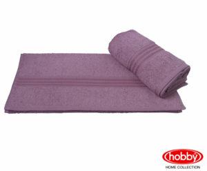 Махровое полотенце 70x140 RAINBOW т.пудра100% Хлопок