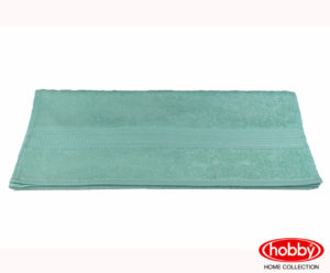 Махровое полотенце 70x140 LAVINYA минт 60% Бамбук 40% хлопок