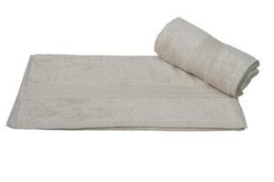 Махровое полотенце 70x140 LAVINYA св.бежевый 60% Бамбук 40% Хлопок