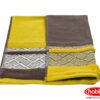 Махровое полотенце 70x140 NAZENDE жёлтый 100% Хлопок