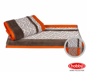 Махровое полотенце 70X140 NAZENDE оранжевый 100% Хлопок