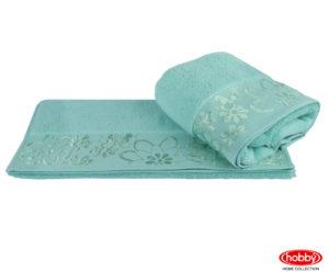 Махровое полотенце 100x150 DORA минт 100% Хлопок