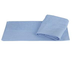 Махровое полотенце 50x90 ALICE голубой 100% Хлопок