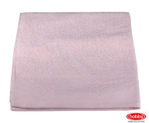 Махровое полотенце 70x140 ALICE пудра 100% Хлопок