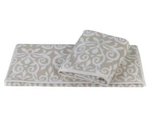 Махровое полотенце 70x140 VALENSIYA св.коричневый 100% Хлопок