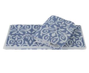 Махровое полотенце 70x140 VALENSIYA синий 100% Хлопок